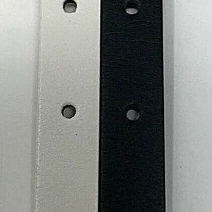 Target Accessories - Womens Black and White Skinny 1/2 in TWO Belt Set